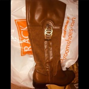 Etienne Aigner brown boots. Size 6.5